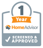 Novus has been a verified HomeAdvsior company for over 1 year