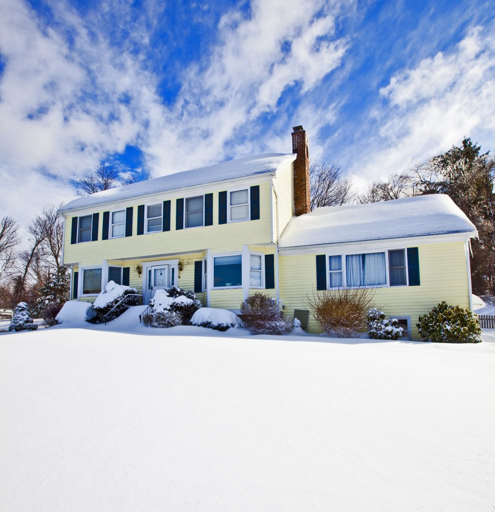 Winter home in New England