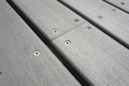 Composite Decking Close-up