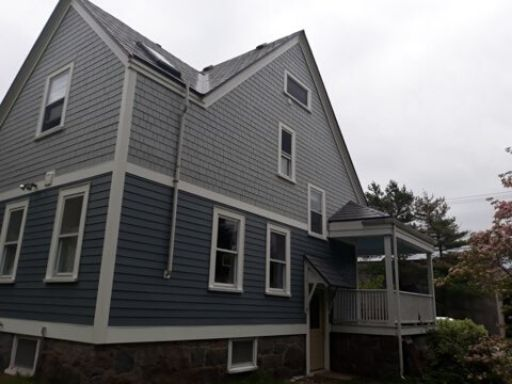 An after image of siding in Braintree