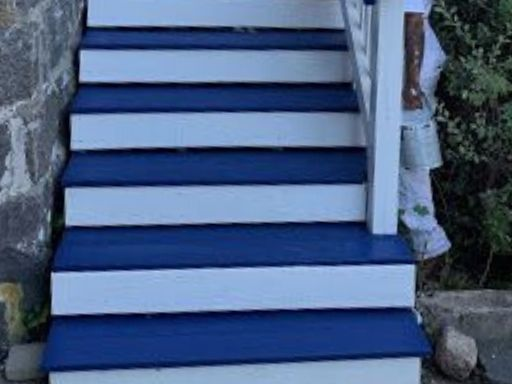 Finished Stairs from a recent Novus Exteriors project